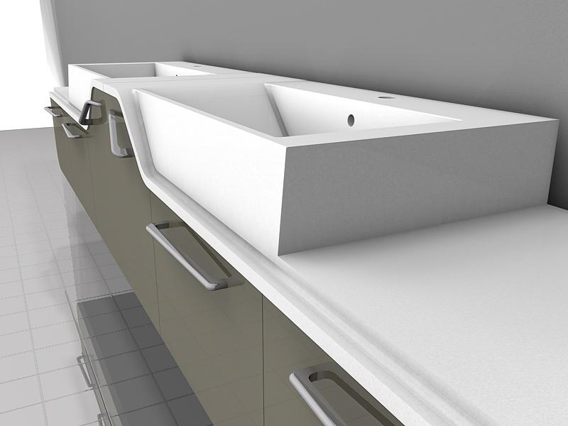 collezione pianoforte base monoblocco per bagno